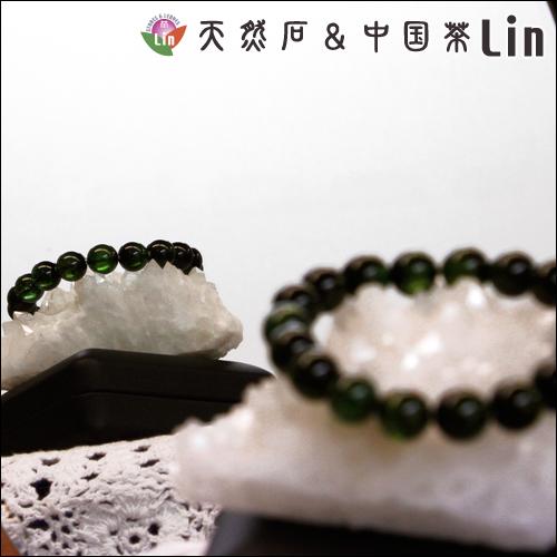 グリーントルマリンブレスレット◆10.5〜11mm玉◆