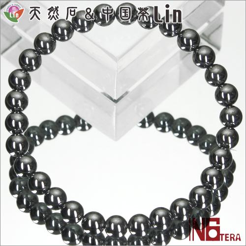 N6tera テラヘルツ鉱石ブレスレット◆6mm玉◆