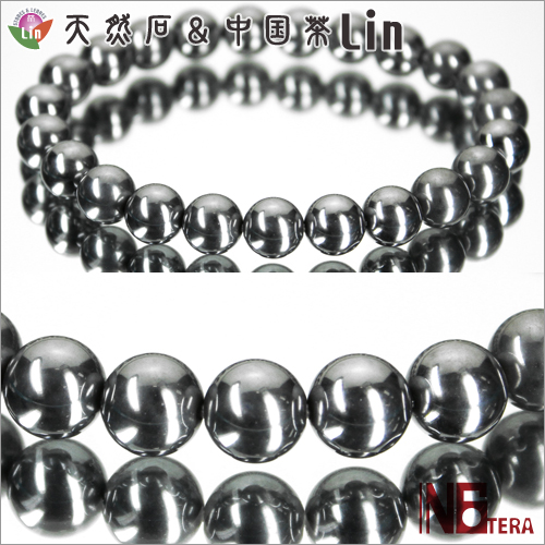 N6tera テラヘルツ鉱石ブレスレット◆8mm玉◆